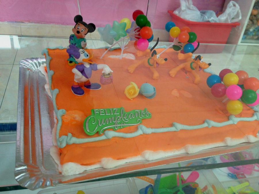 tarta decorada para un cumplaos infantil