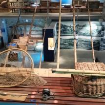 Aperos de pesca en el Museo de la Pesca de Palamós