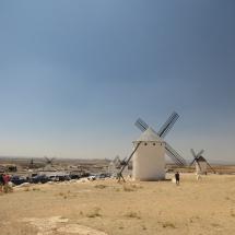 Molino de viento en Campo de Criptana, Ruta del Quijote