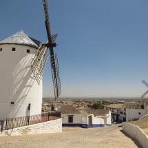 Molinos de viento en Campo de Criptana, Ruta del Quijote
