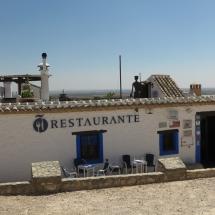 Restaurante en la Sierra de los Molinos, en Campo de Criptana