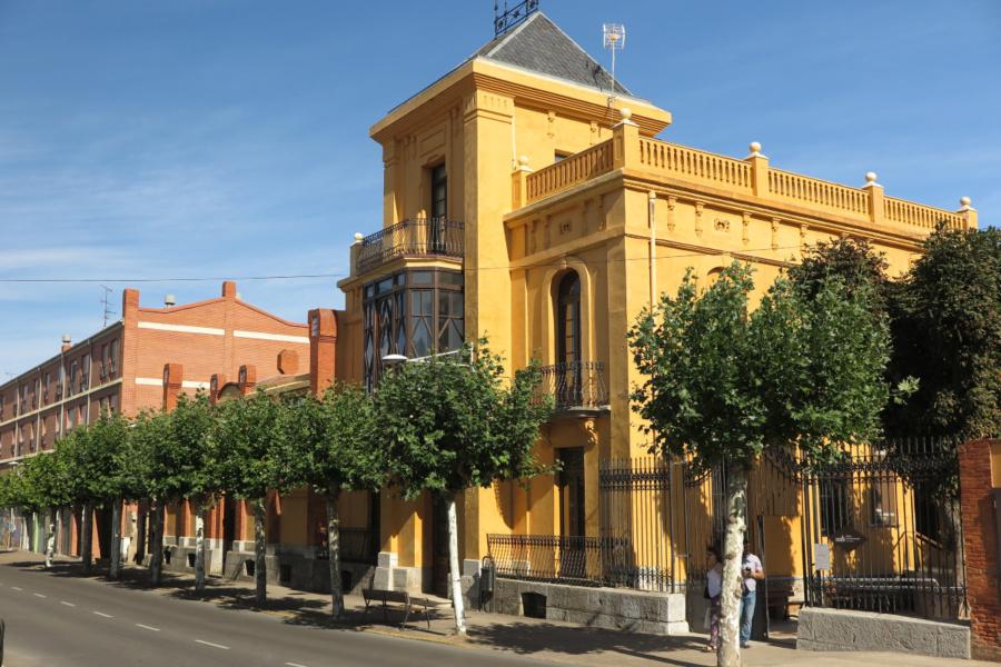 Edificio que alberga el Museo del Chocolate de Astorga