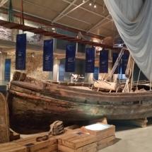 Embarcación del Museo de la Pesca de Palamós