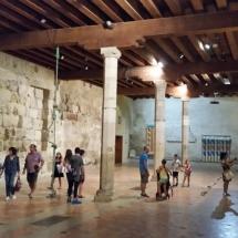 Interior del Palacio de los arzobispos de Narbona