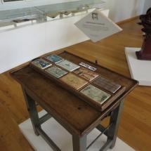 Piezas del Museo del Chocolate de Astorga