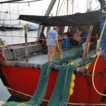 Barco del puerto de Palamós