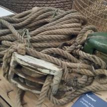 Sogas en Museo de la Pesca de Palamós