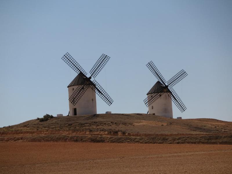 Molinos de viento de Tembleque