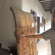 Trilla del museo etnográfico de Tembleque
