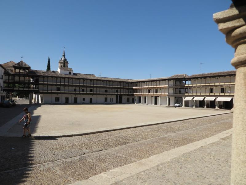 Plaza Mayor de Tembleque