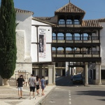 Arco de entrada de la Plaza Mayor de Tembleque