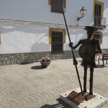 Escultura de Don Quijote en Tembleque