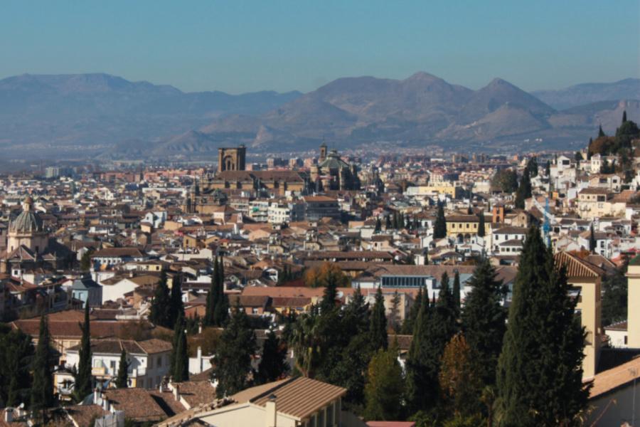 Vistas de la ciudad de Granada