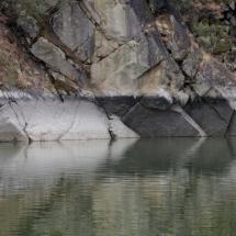 Señal de la sequía en las Arribes del Duero