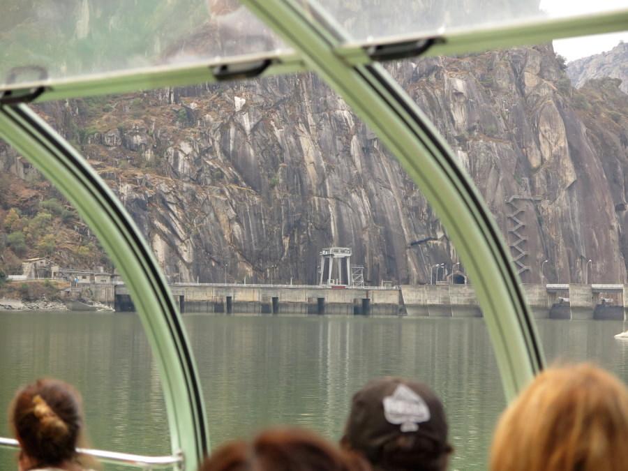 Presa del Duero en el entorno de las arribes