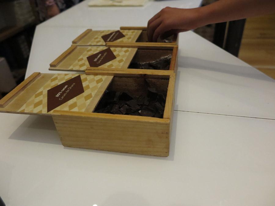 Cata de chocolate en el Museo del Chocolate de Astorga
