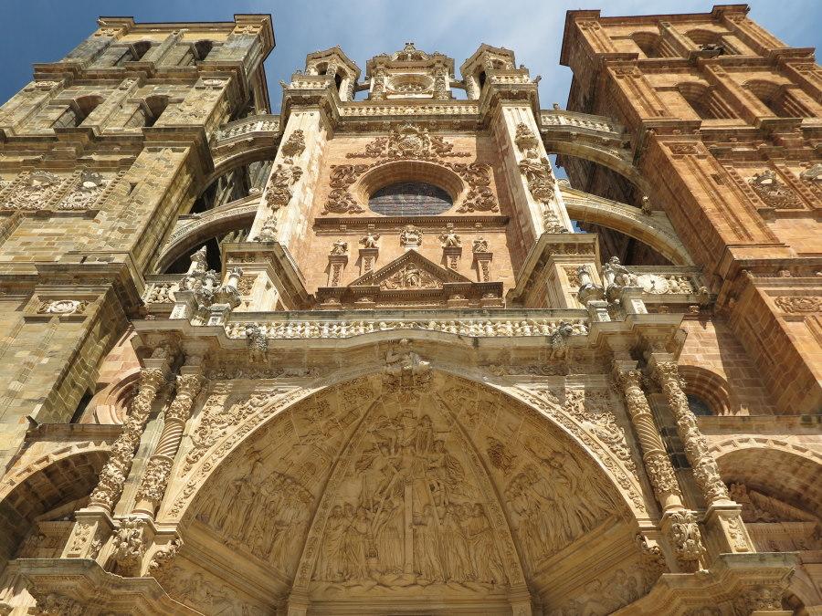 Fachada de la Catedral de Astorga