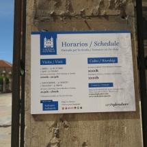 Horarios de la Catedral de Astorga