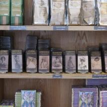 Chocolates en la tienda del Museo del Chocolate de Astorga