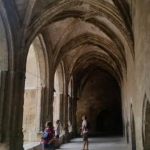 Claustro inacabado de la Catedral de Narbona