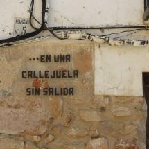 Calle de El Toboso, el pueblo de Dulcinea