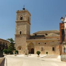 Iglesia de San Antonio, en El Toboso