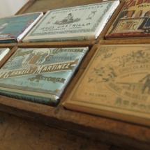 Envases antiguos de chocolate