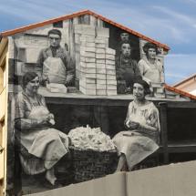 Graffiti de cajilleras y mantecadas astorga