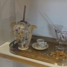 Juego de chocolate en el Museo del Chocolate de Astorga
