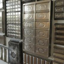 Moldes para chocolate en el Museo del Chocolate de Astorga