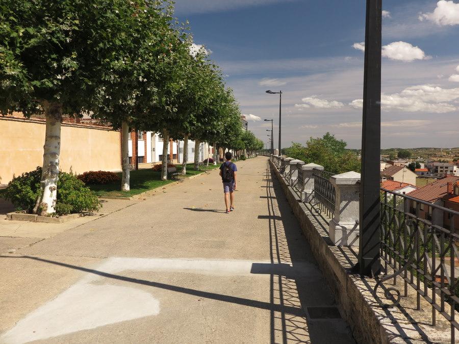Paseo de la muralla romana de Astorga