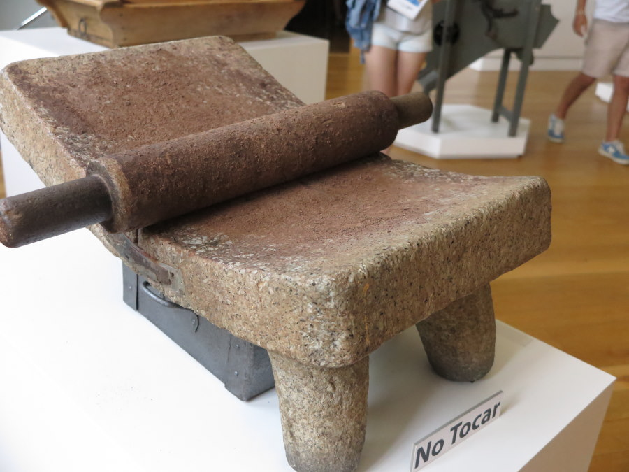 Piedra para moler cacao
