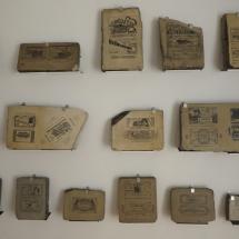 Piedras litográficas para envoltorios de chocolate