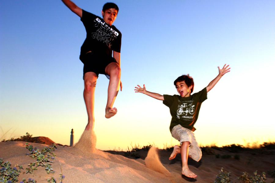 Agosto, vacaciones y diversión son sinónimos para los niños :-)