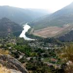Entorno de las Arribes del Duero: presa de Aldeadavila.