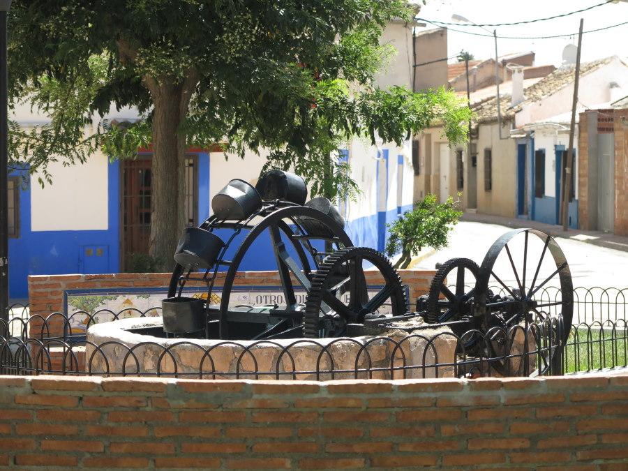 Puerto Lápiece, en la Ruta del Quijote