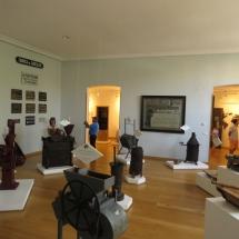 Sala sobre fabricación de chocolate en el Museo del Chocolate de Astorga