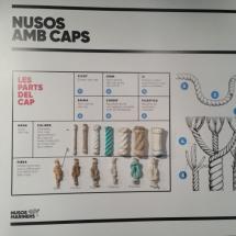 Técnicas de nudos en Museo de la Pesca de Palamós