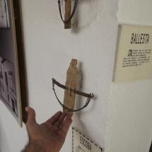 Utensilios antiguos en el museo etnográfico de Tembleque