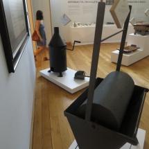 Tostadoras de cacao del Museo del Chocolate de Astorga