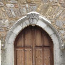 Puerta de la iglesia de La Peral