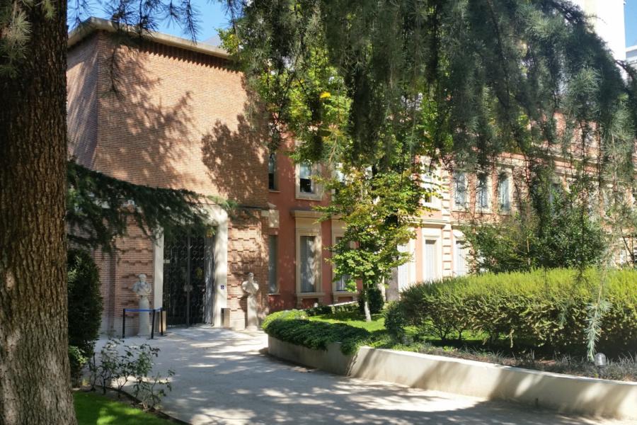Jardín del Museo Lázaro Galdiano de Madrid