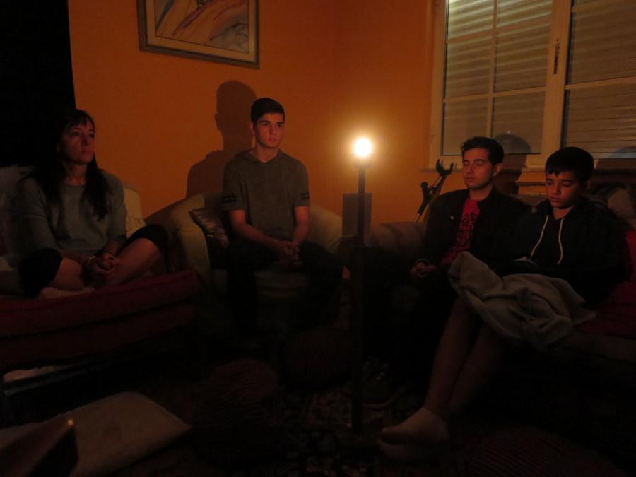Meditación de la vela