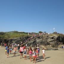 El acceso a la Playa de Las Catedrales está restringido