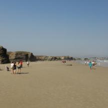 Playa de Las Catedrales, en Ribadeo
