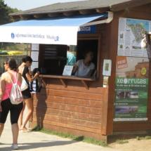 Playa Las Catedrales: punto de información turística