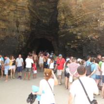 Pasillos en la Playa de Las Catedrales