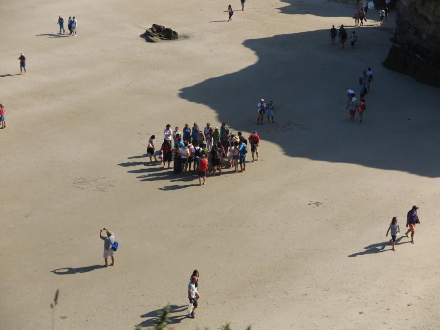 La Playa de Las Catedrales se puede recorrer, también, en visitas guiadas