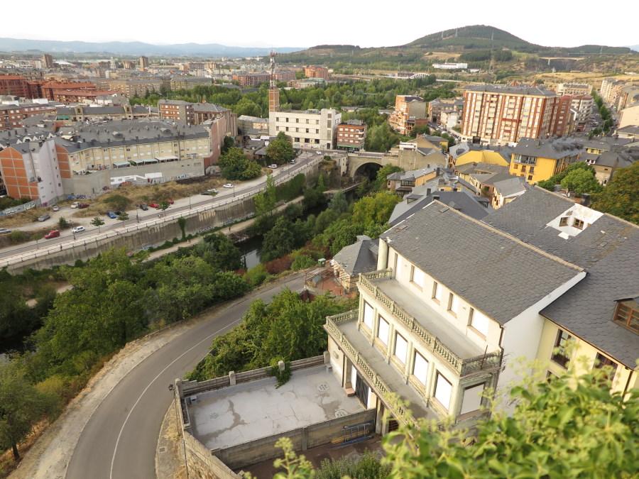 Puentes sobre el río Sil a su paso por Ponferrada