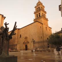 Iglesia de Santa María de la Encina, en Ponferrada